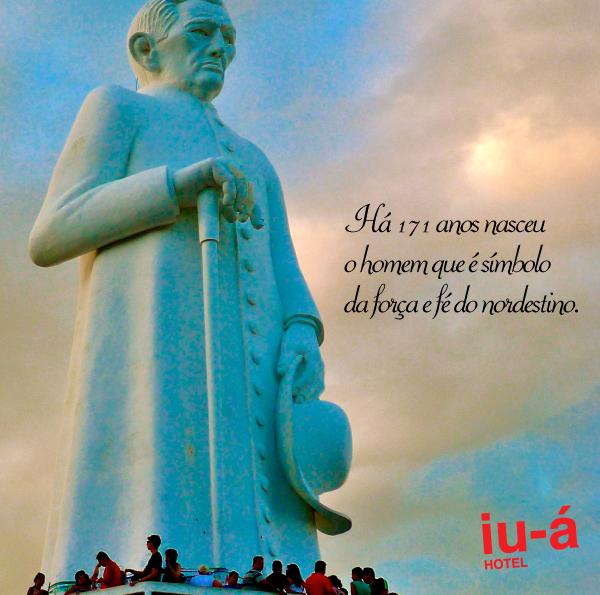 Foto: Homenagem do iu-á hotel aos 171 anos de Padre Cícero.